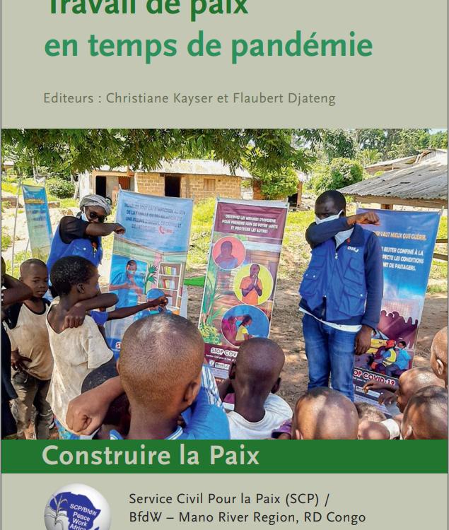 Travail de paix en temps de pandémie